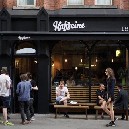 Starting a coffee shop business - Kaffeine London