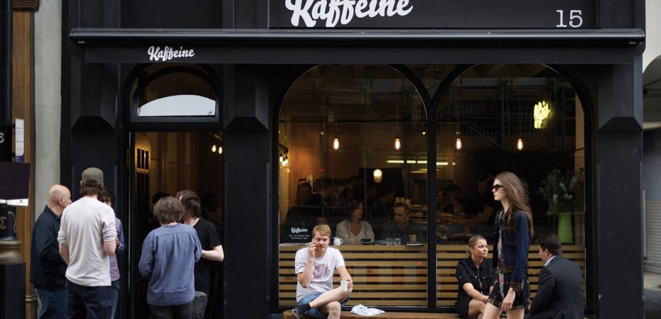 Starting a coffee shop business - Kaffeine London